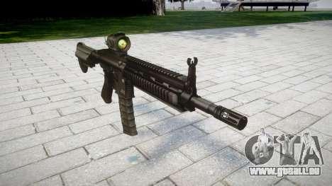 Machine HK416 AR pour GTA 4