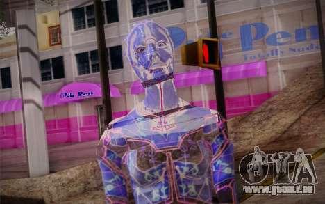 Avina from Mass Effect pour GTA San Andreas troisième écran