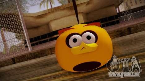 Orange Bird from Angry Birds pour GTA San Andreas troisième écran