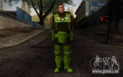 Space Ranger from GTA 5 v3 pour GTA San Andreas
