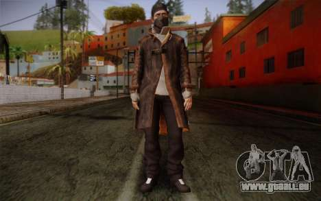 Aiden Pearce from Watch Dogs v4 pour GTA San Andreas