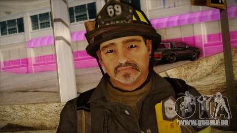 GTA 4 Emergency Ped 6 pour GTA San Andreas troisième écran