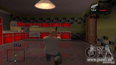 C-HUD Brendi pour GTA San Andreas