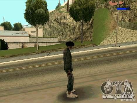 Cкин Benito из Stalker für GTA San Andreas dritten Screenshot