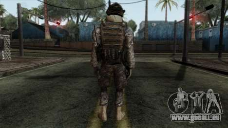 Modern Warfare 2 Skin 8 pour GTA San Andreas deuxième écran