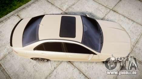 Mercedes-Benz C63 AMG 2010 für GTA 4 rechte Ansicht