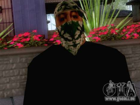 New Ballas Skin 1 für GTA San Andreas dritten Screenshot