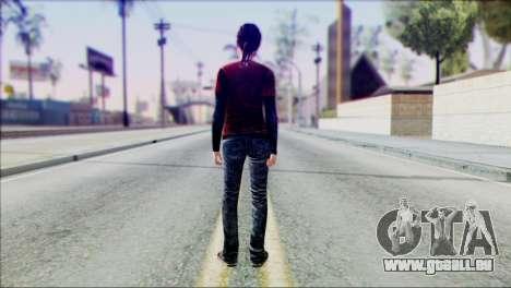 Ellie from The Last Of Us v1 pour GTA San Andreas deuxième écran