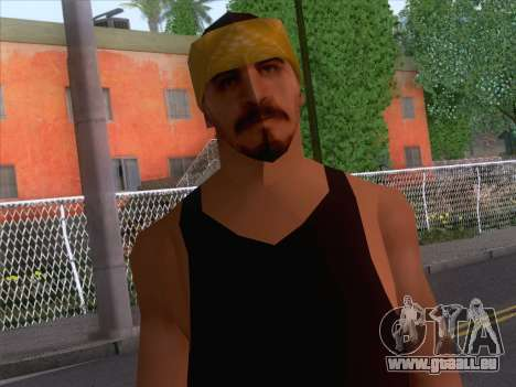 New Ballas Skin 2 pour GTA San Andreas troisième écran