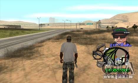 C-HUD by Travis Escobaro and Matthew Escobaro pour GTA San Andreas