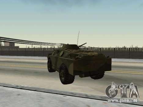 BRDM 2 pour GTA San Andreas vue arrière