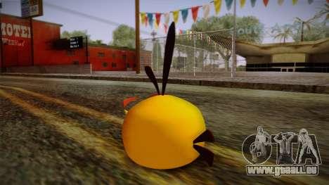 Orange Bird from Angry Birds pour GTA San Andreas deuxième écran