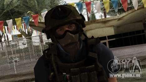 Modern Warfare 2 Skin 11 pour GTA San Andreas troisième écran
