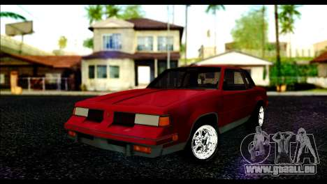 Oldsmobile Cutlass 1987 Beta pour GTA San Andreas