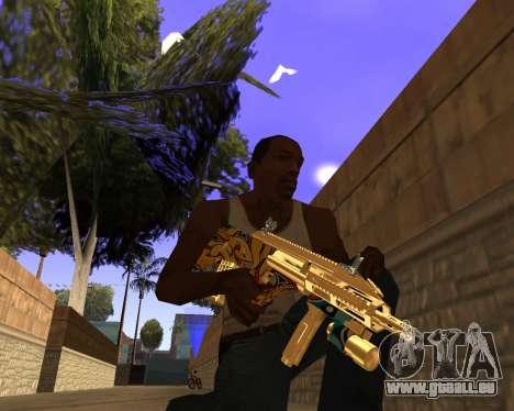 Graffity Weapons für GTA San Andreas dritten Screenshot