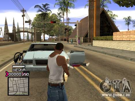 C-HUD by Kevka für GTA San Andreas her Screenshot
