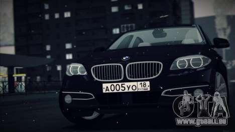 BMW 535i F10 für GTA San Andreas linke Ansicht