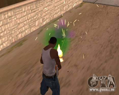Freaky-Effekte für GTA San Andreas zweiten Screenshot
