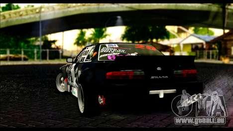 Nissan Silvia S13 Fail Crew v2 für GTA San Andreas linke Ansicht