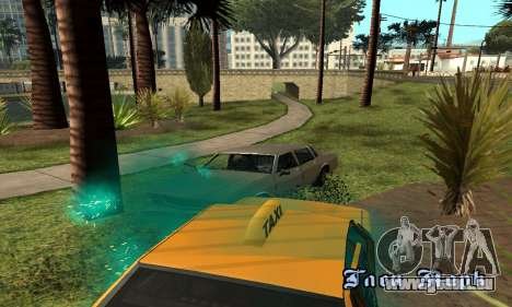 Türkis effects für GTA San Andreas her Screenshot