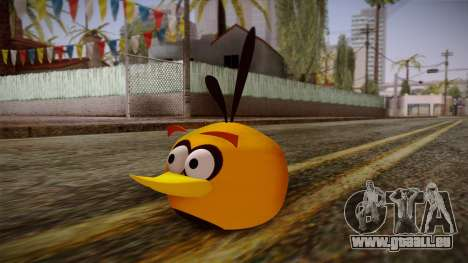 Orange Bird from Angry Birds pour GTA San Andreas