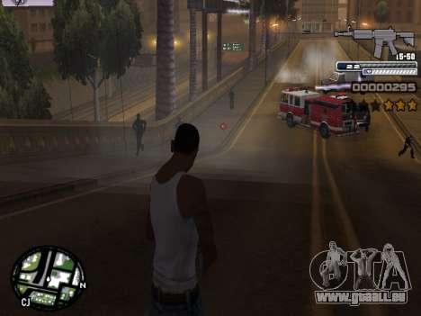 CLEO HUD Spiceman pour GTA San Andreas cinquième écran