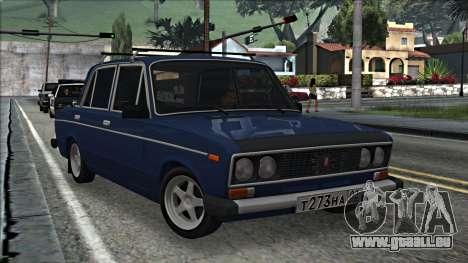 ВАЗ 2106 à la russe 2.0 pour GTA San Andreas