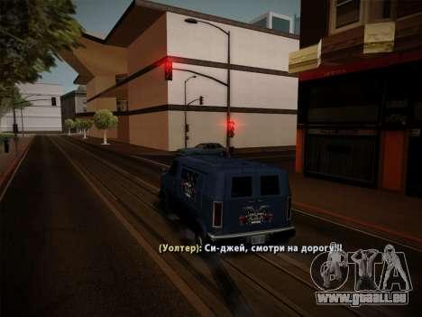Système vols v4.0 pour GTA San Andreas