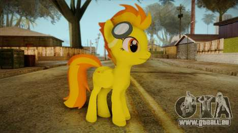 Spitfire from My Little Pony für GTA San Andreas