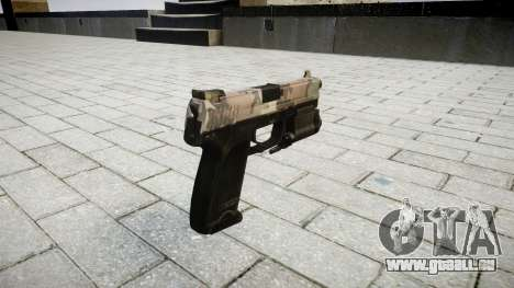 Pistole HK USP 45 erdl für GTA 4 Sekunden Bildschirm