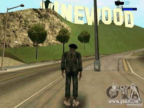 Cкин Benito из Stalker für GTA San Andreas zweiten Screenshot