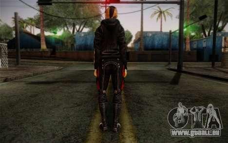Jack Hood from Mass Effect 3 pour GTA San Andreas deuxième écran