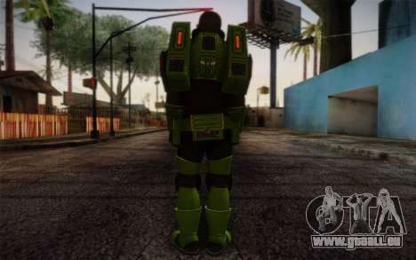 Space Ranger from GTA 5 v3 pour GTA San Andreas deuxième écran