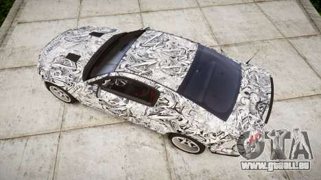 Ford Mustang Shelby GT500 2013 Sharpie für GTA 4 rechte Ansicht