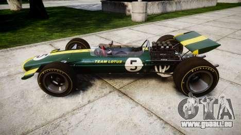 Lotus Type 49 1967 [RIV] PJ5-6 pour GTA 4 est une gauche