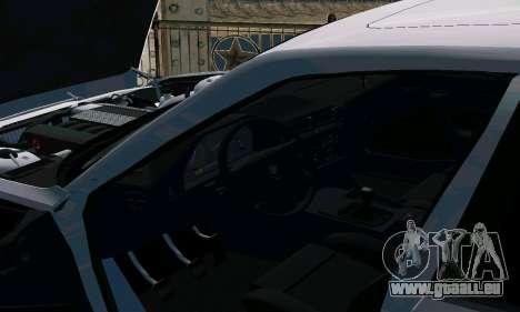 BMW 525 Turbo pour GTA San Andreas vue intérieure