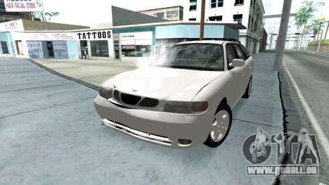 Daewoo Nubira I Kombi CDX US 1999 für GTA San Andreas Motor