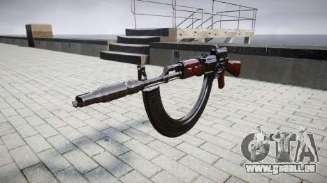 Автомат АК-47 Collimateur. Le museau et les HICA pour GTA 4