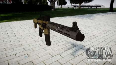Fusil d'assaut AAC ratel pour GTA 4
