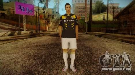 Footballer Skin 3 pour GTA San Andreas