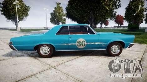 Pontiac GTO 1965 victory cars für GTA 4 linke Ansicht