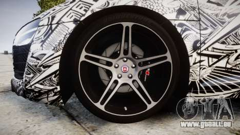 Audi R8 plus 2013 HRE rims Sharpie für GTA 4 Rückansicht