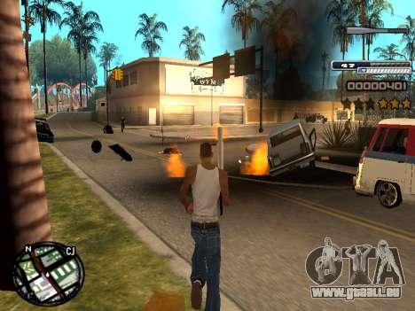 CLEO HUD Spiceman für GTA San Andreas dritten Screenshot