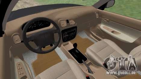 Daewoo Nubira I Kombi CDX US 1999 für GTA San Andreas Unteransicht