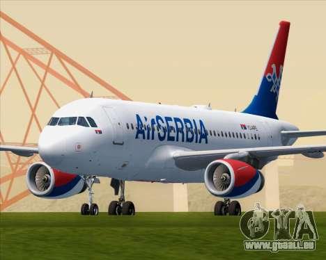 Airbus A319-100 Air Serbia für GTA San Andreas