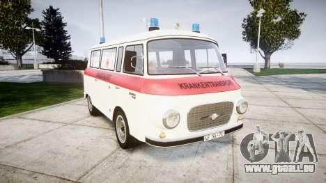 Barkas B1000 1961 Ambulance pour GTA 4