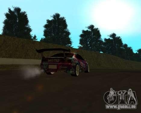 Nissan Silvia S15 EXEDY pour GTA San Andreas vue de droite