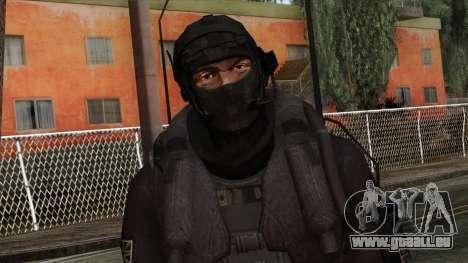Modern Warfare 2 Skin 14 pour GTA San Andreas troisième écran