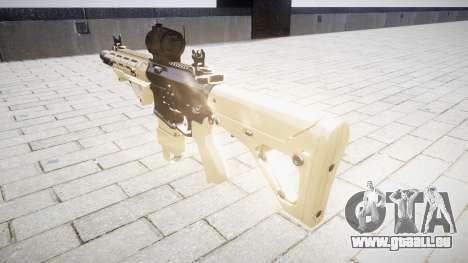 Fusil AR-15 CQB d'un aimpoint pour GTA 4 secondes d'écran