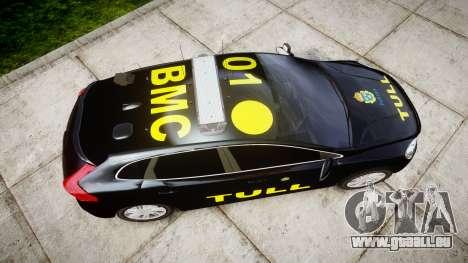 Volvo V40 Swedish TULL [ELS] pour GTA 4 est un droit